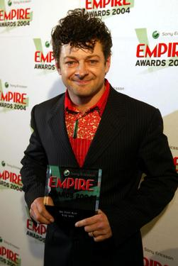Andy Serkis at the Sony Ericsson Empire Film Awards.